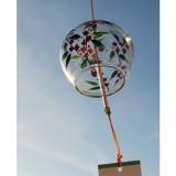 Фурин - японский ветряной колокольчик. Стеклянный колокольчик из Японии.