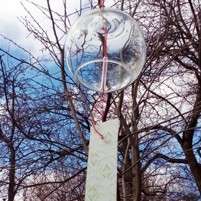 Ветряной колокольчик (furin) без рисунка