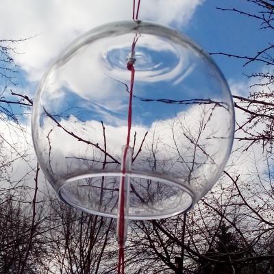 Ветряной колокольчик фурин без рисунка (большой)