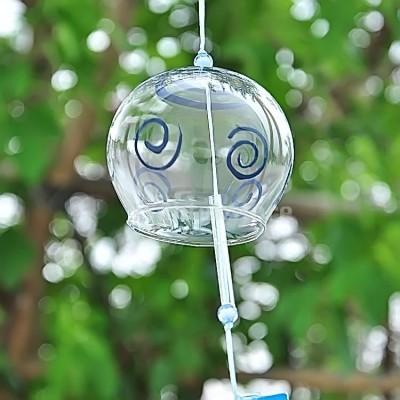 Фурин с голубыми спиральками  (малый)