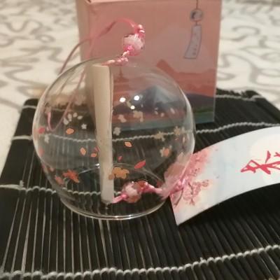 Фурин с маленькими цветками сакуры