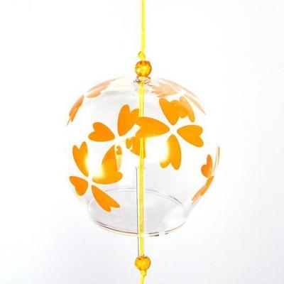 Ветряной колокольчик фурин с цветками лютика