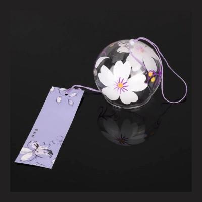 Ветряной колокольчик Фурин с цветками сливы