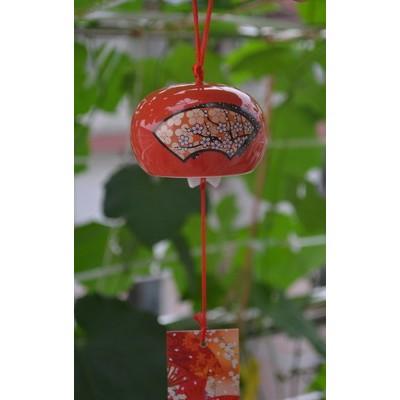 Керамический колокольчик (красный)
