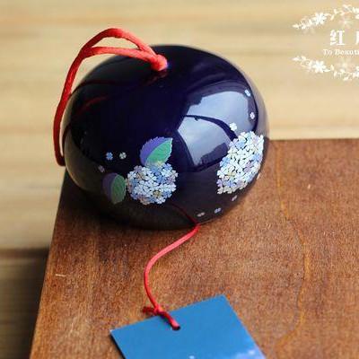 Керамический колокольчик (темно-синий)