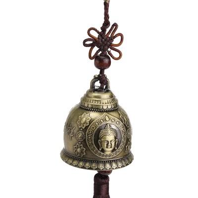 Медный колокольчик с Буддой