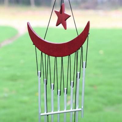 Музыка ветра с семью металлическими трубочками